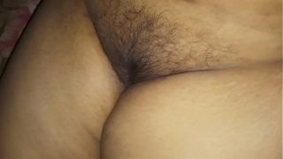 Busty Desi wife Beautiful Puffy pussy show