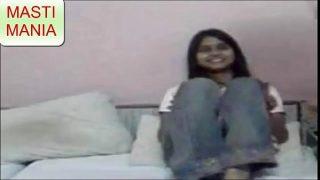 hot teen desi couple having hot time in bedroom