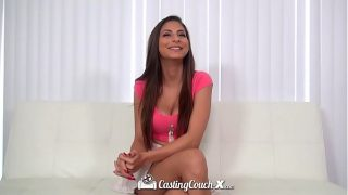 Native indian Brunette Nina North fucked by casting agent