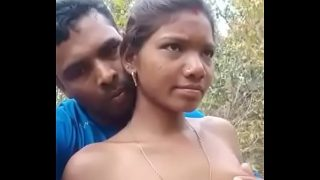 Tribal Village Wife Boob Press Outdoor Sex MMS
